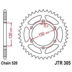 Reťazová rozeta JTR305