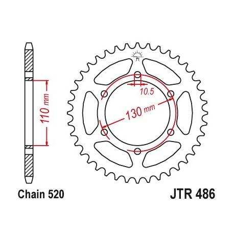 Reťazová rozeta JTR486