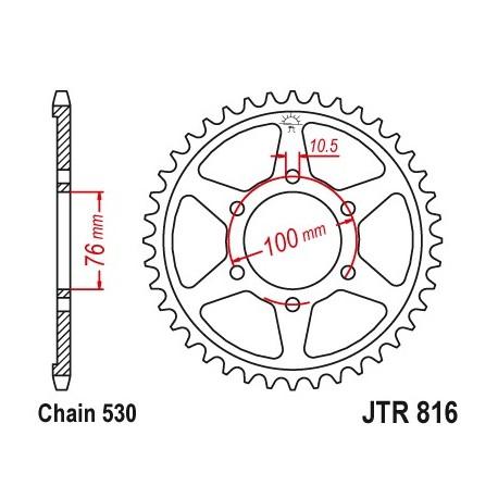 Reťazová rozeta JTR816