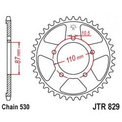 Reťazová rozeta JTR829