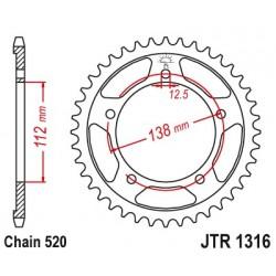 Reťazová rozeta JTR1316